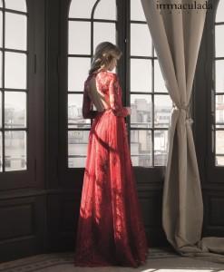 vestido rojon