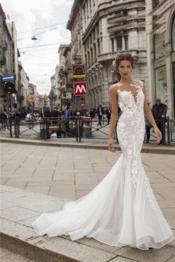Vestido de Fiesta en Valencia colección Lucía Fiesta 2019 mod. 50406 2