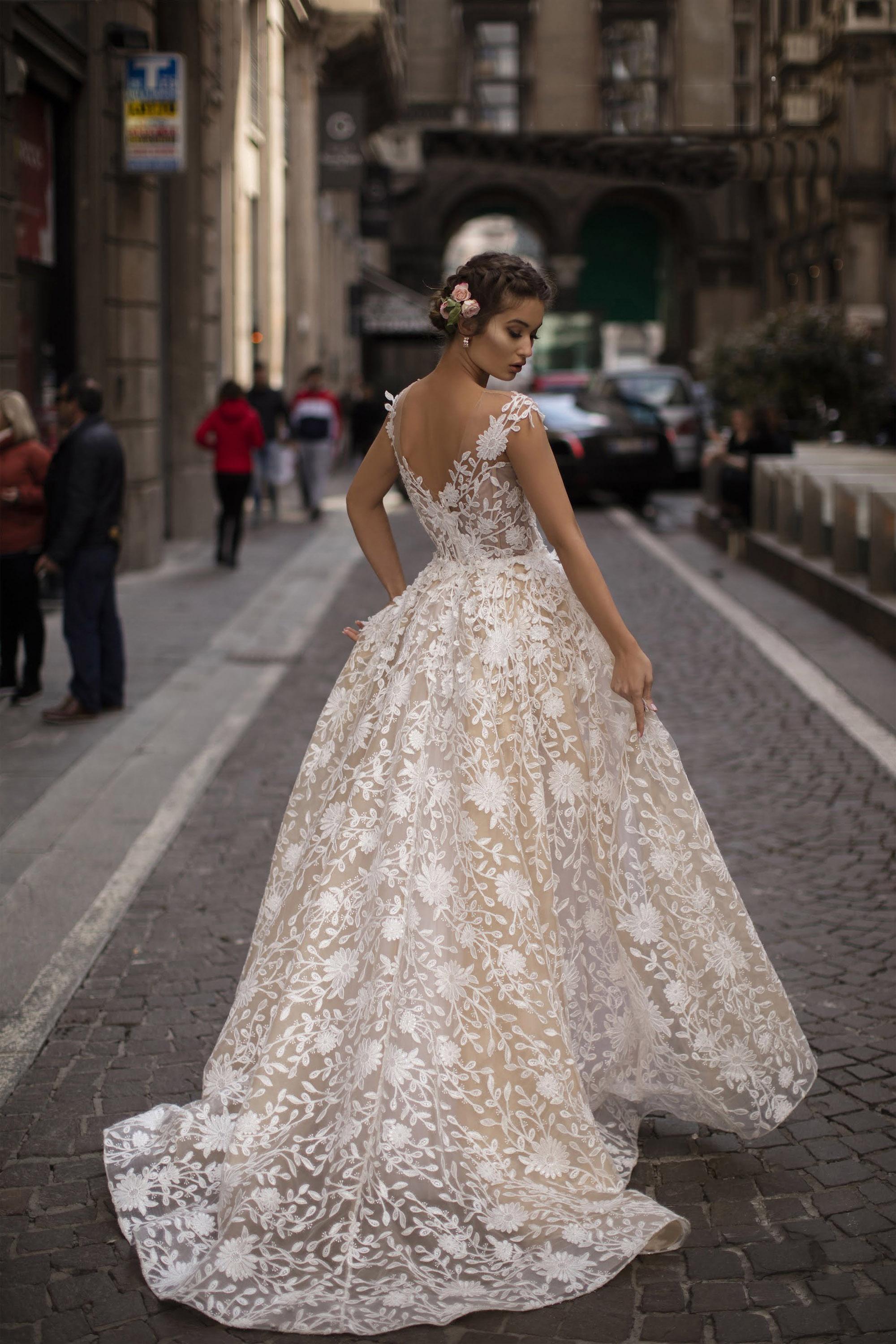 Vestido de Fiesta en Valencia colección Lucía Fiesta 2019 mod. 93613 1