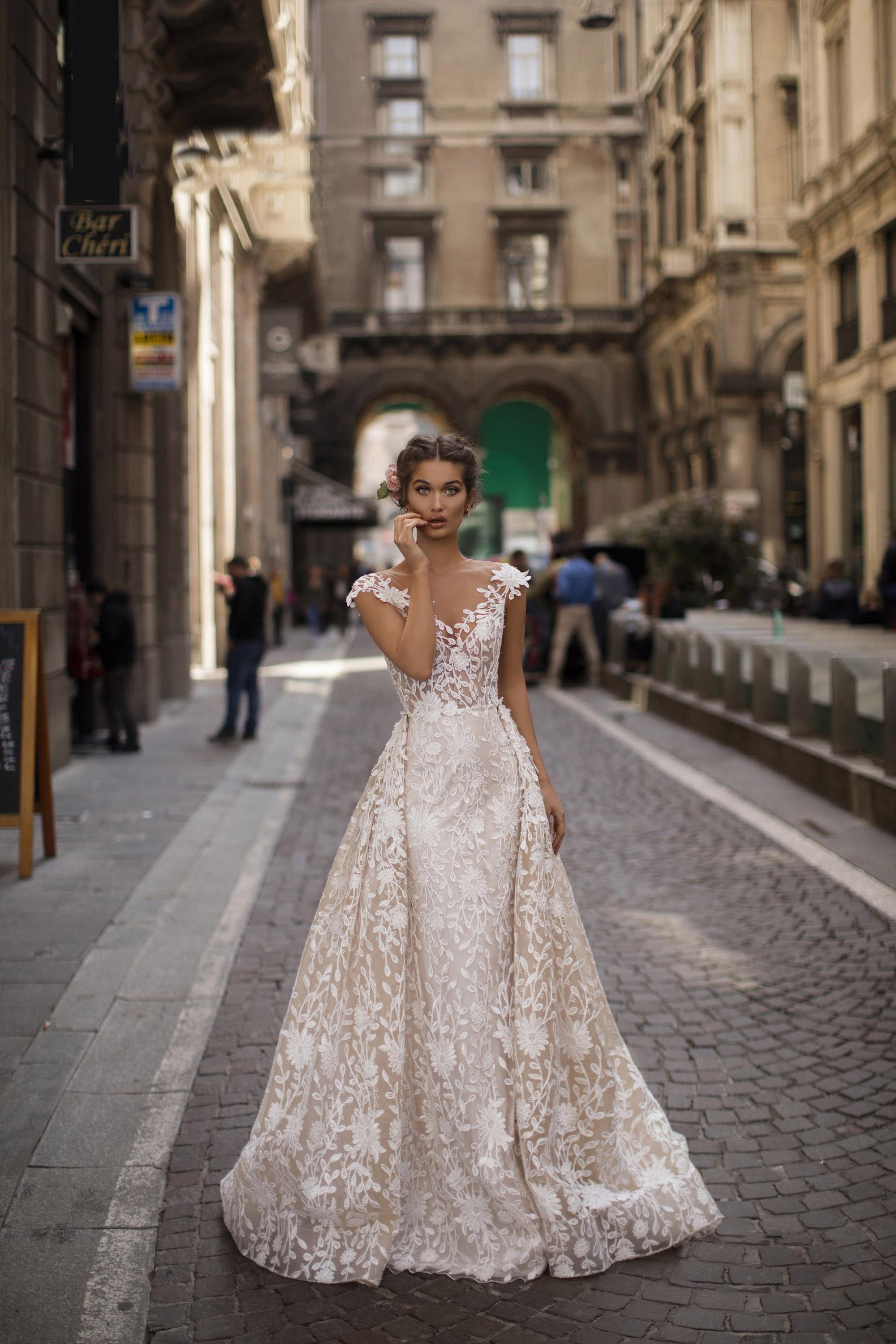 Vestido de Fiesta en Valencia colección Lucía Fiesta 2019 mod. 93613 2