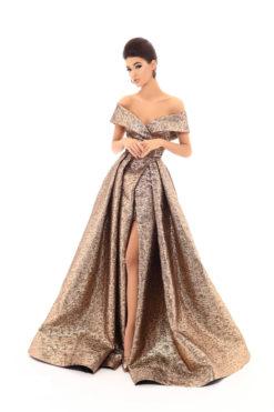 Vestido de Fiesta en Valencia colección Lucía Fiesta 2019 mod. 93621 1