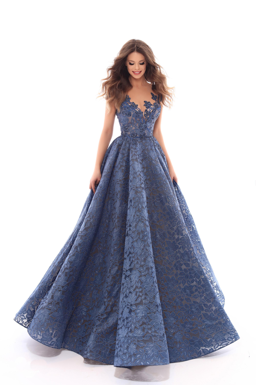 Vestido de Fiesta en Valencia colección Lucía Fiesta 2019 mod. 93637 2