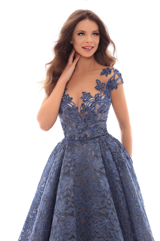 Vestido de Fiesta en Valencia colección Lucía Fiesta 2019 mod. 93637 3