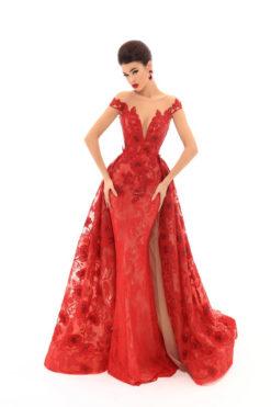 Vestido de Fiesta en Valencia colección Lucía Fiesta 2019 mod. 93673 1
