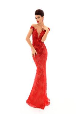 Vestido de Fiesta en Valencia colección Lucía Fiesta 2019 mod. 93673 2