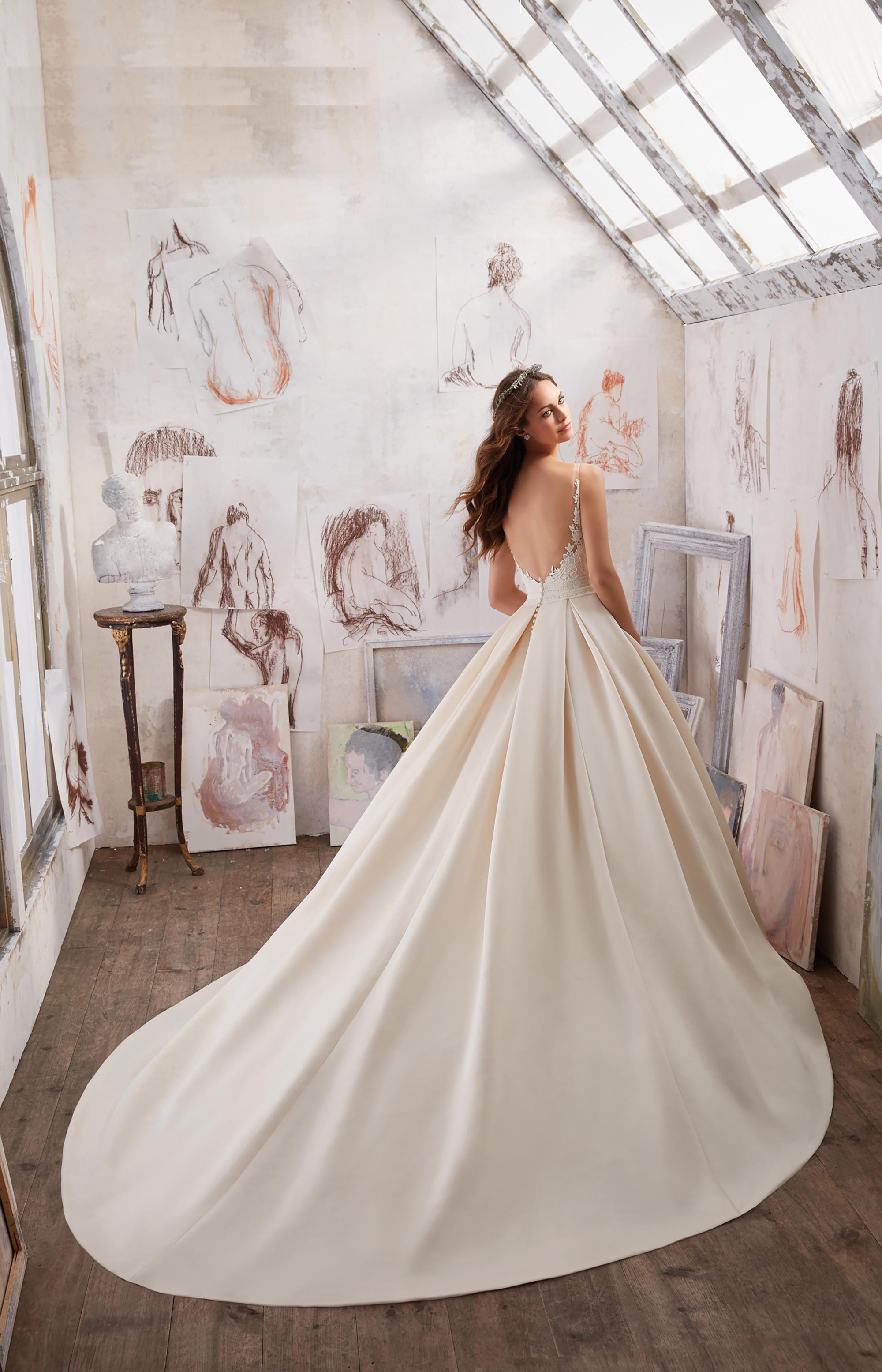 Vestido Lucía Fiesta 2019 mod. 5501 - 3